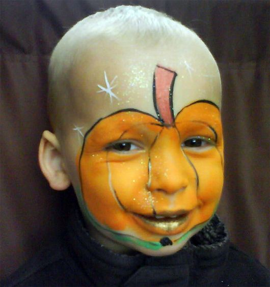 halloween face painting for kids 30 cute examples multy shades - Halloween Face Paint Ideas For Children