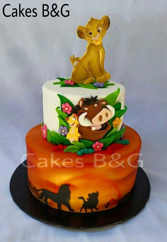 Pin By Yadore Guil On Birthday Cake With Images Lion King