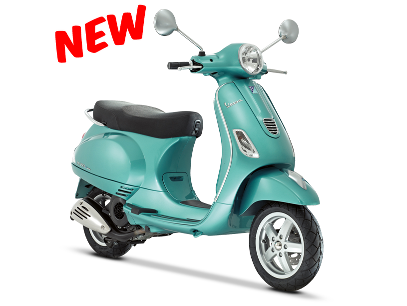 Now that I am living in the city, really thinking about sell the car and get a Vespa ... This new version of the LX150 looks good!