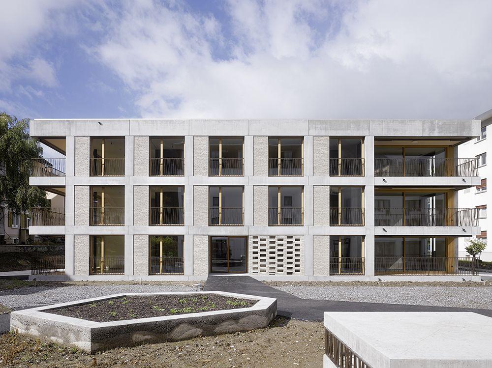 Bau der Woche: Residenz Riga - Chebbi / Thomet / Bucher Architektinnen AG