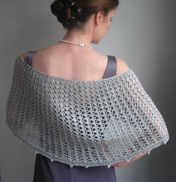 Argentina Shawl - someone want to volunteer to knit this for us? :-D