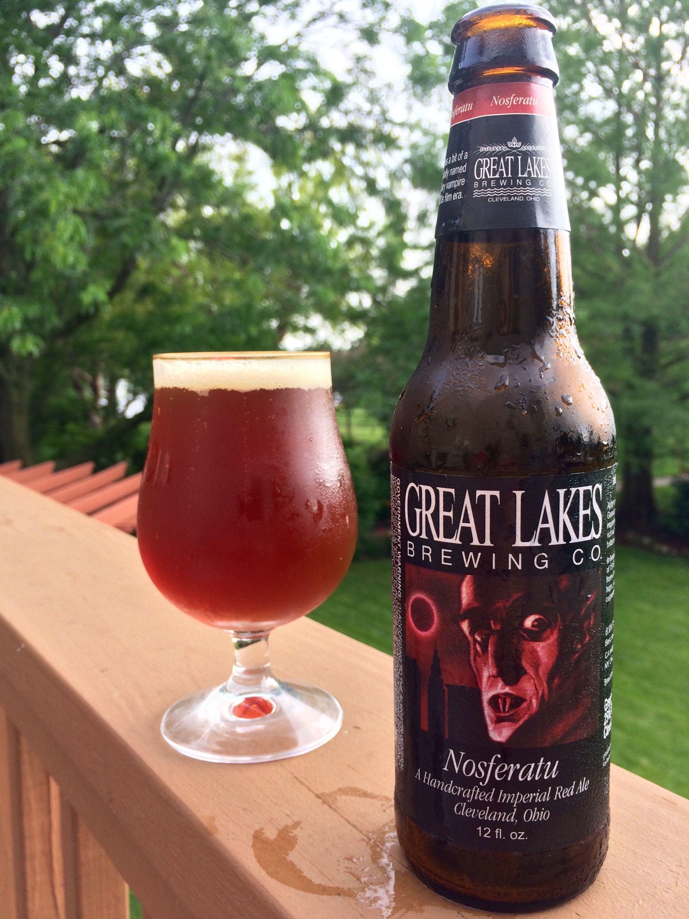 772 Great Lakes Brewing Nosferatu Imperial Red Ale Beer Pictures Great Lakes Brewing