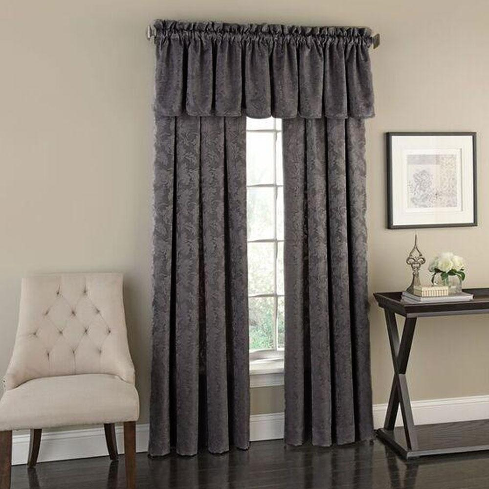 Flora Woven Jacquard Curtain Panel Panel Curtains Curtains