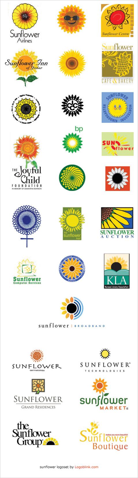 Sunflower Logo Design Pinterest Sunflowers Logos And Logo Ideas