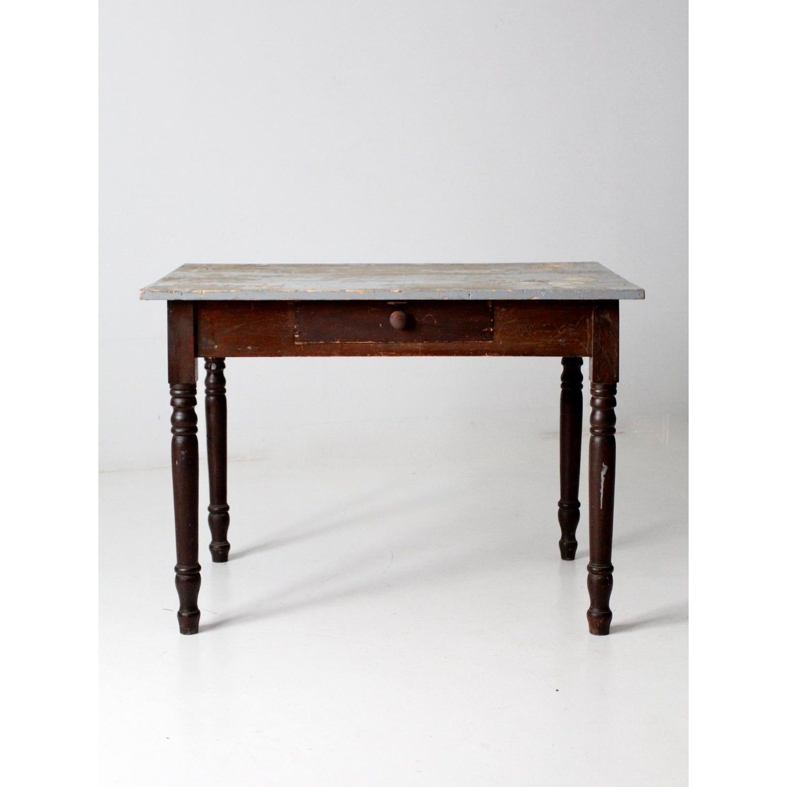 Antique Kitchen Table With Drawer Antique Kitchen Table Antique Kitchen Dining Table With Drawers