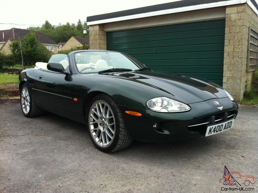 1997 Jaguar Xk8 4 0 Automatic Rare British Racing Green Convertible Photo Jaguar Xk8 British Racing Green Jaguar Car