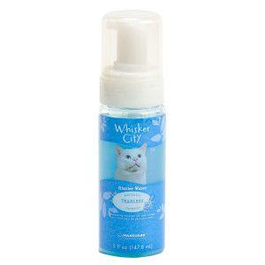 Whisker City Tearless Non Rinse Waterless Cat Shampoo Cat