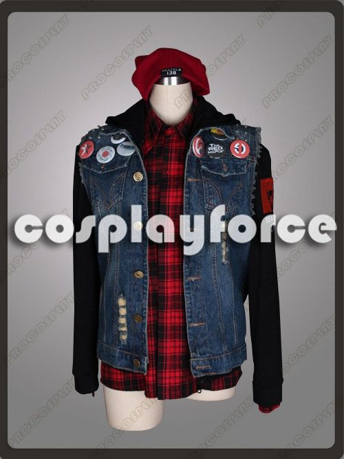 inFAMOUS Second Son Delsin Rowe Cosplay Costume by cosplayforce