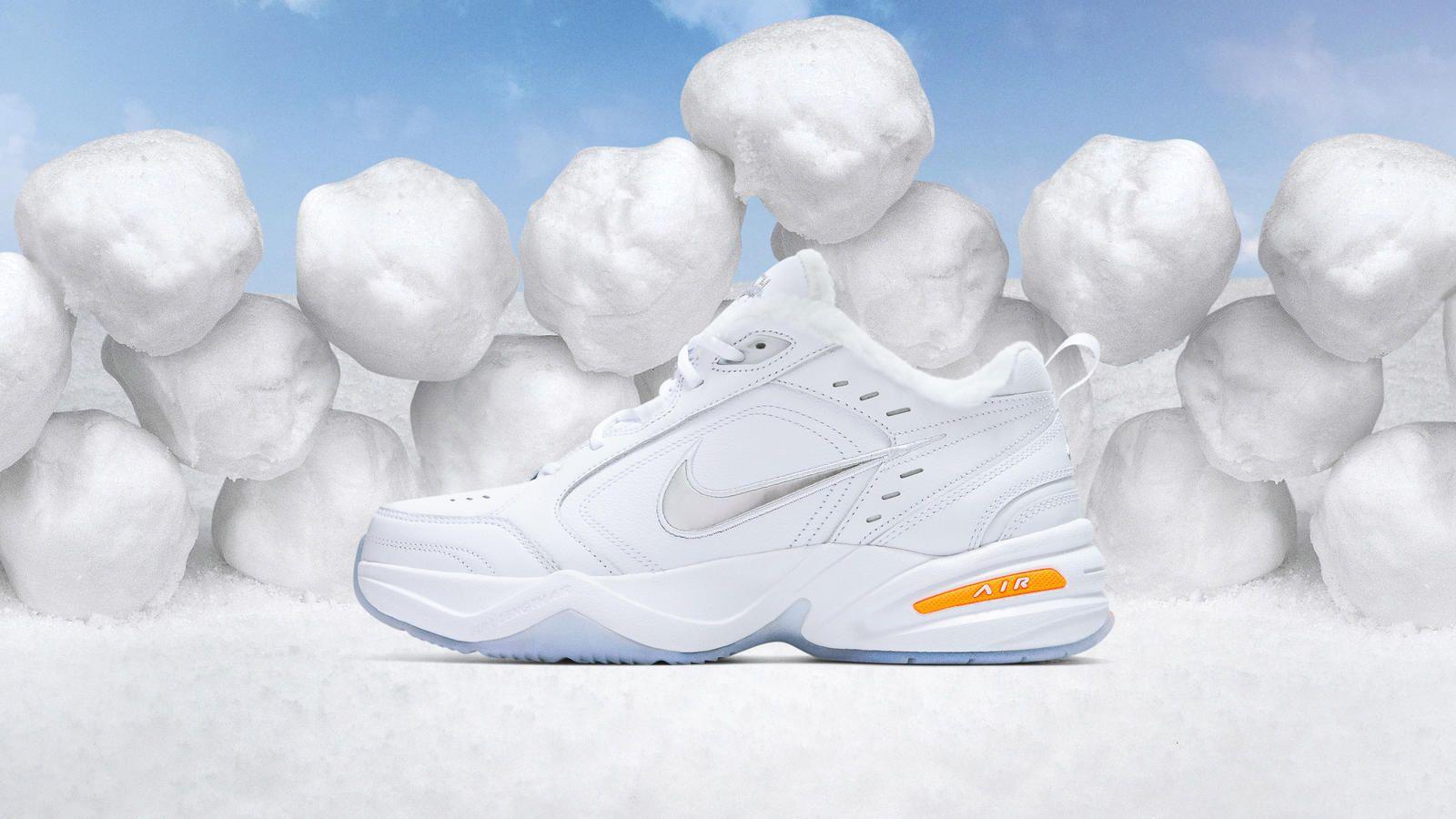 meet a919e 67f74 Nike Air Monarch IV Snow Day 0