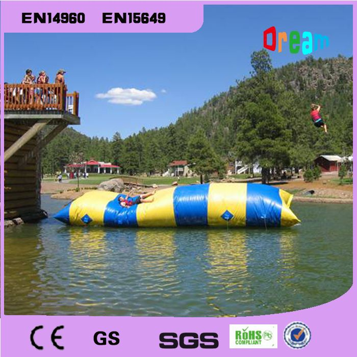 $725.00 (Buy here: http://appdeal.ru/eyw2 ) Free shipping!!! 7*3m water catapult blob/inflatale blob jumping/ water  blob jump/water pillow(free pump+repair kits) for just $725.00