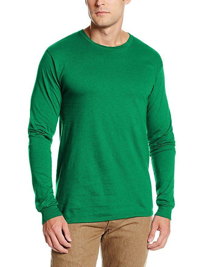 SOFFE Mens Tri-Blend Long Sleeve Crew Neck Tee T-Shirt