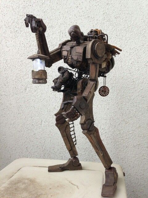 "Based on the Ashley Wood ""popbot"" from threeA studio's  Artist: Unknown"
