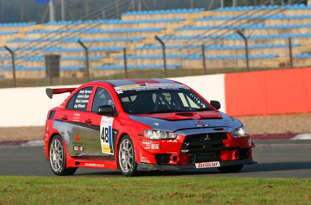 Lancer Evolution X Race Car - Britcar Debut   Mitsubishi Motorsport ...