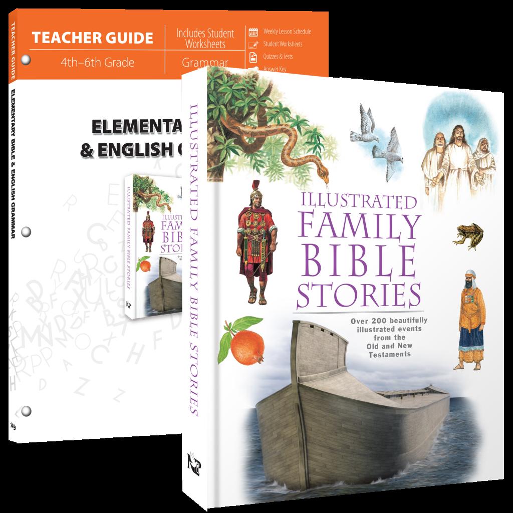 Elementary School National Curriculum: Elementary Bible & English Grammar (Curriculum Pack
