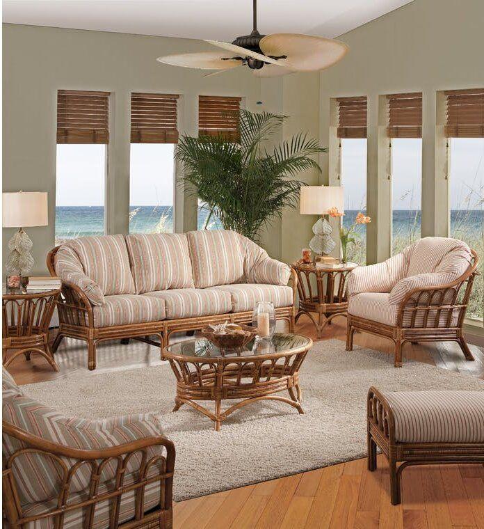 Rattan Furniture Living Room, Braxton Culler Furniture