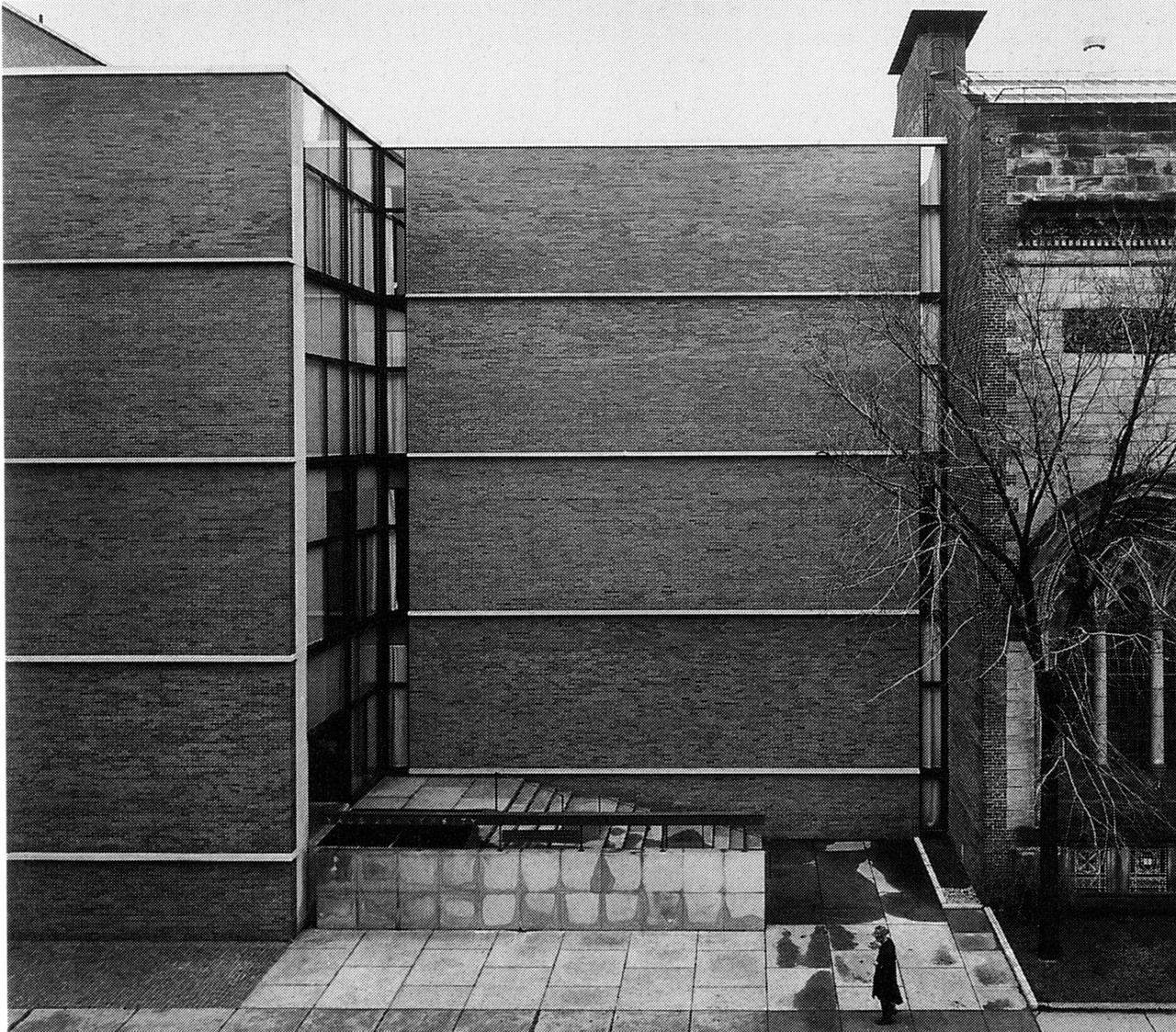 Yale University Art 1953 Haven Connecticut Louis Kahn