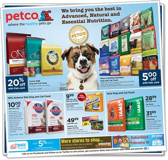 Great Deals Food Animals Food Coupon Petco