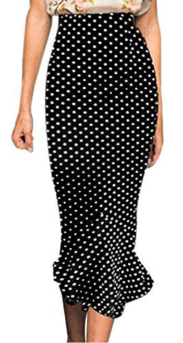 Viwenni® Women's Vintage High Waist Wear to Work Bodycon Mermaid Pencil Skirt ** To view further, visit http://www.passion-4fashion.com/clothing/viwenni-womens-vintage-high-waist-wear-to-work-bodycon-mermaid-pencil-skirt/?st=060716155651