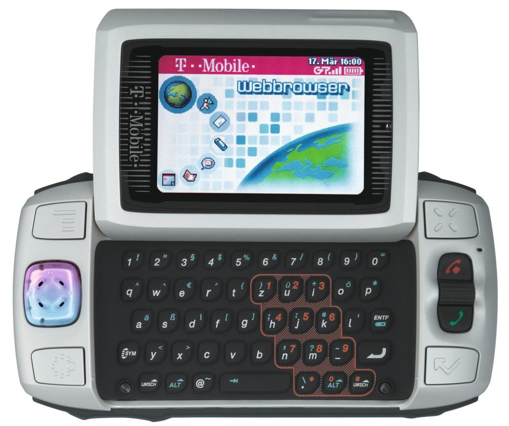 I had this TMobile Sidekick II in the early 2000s before
