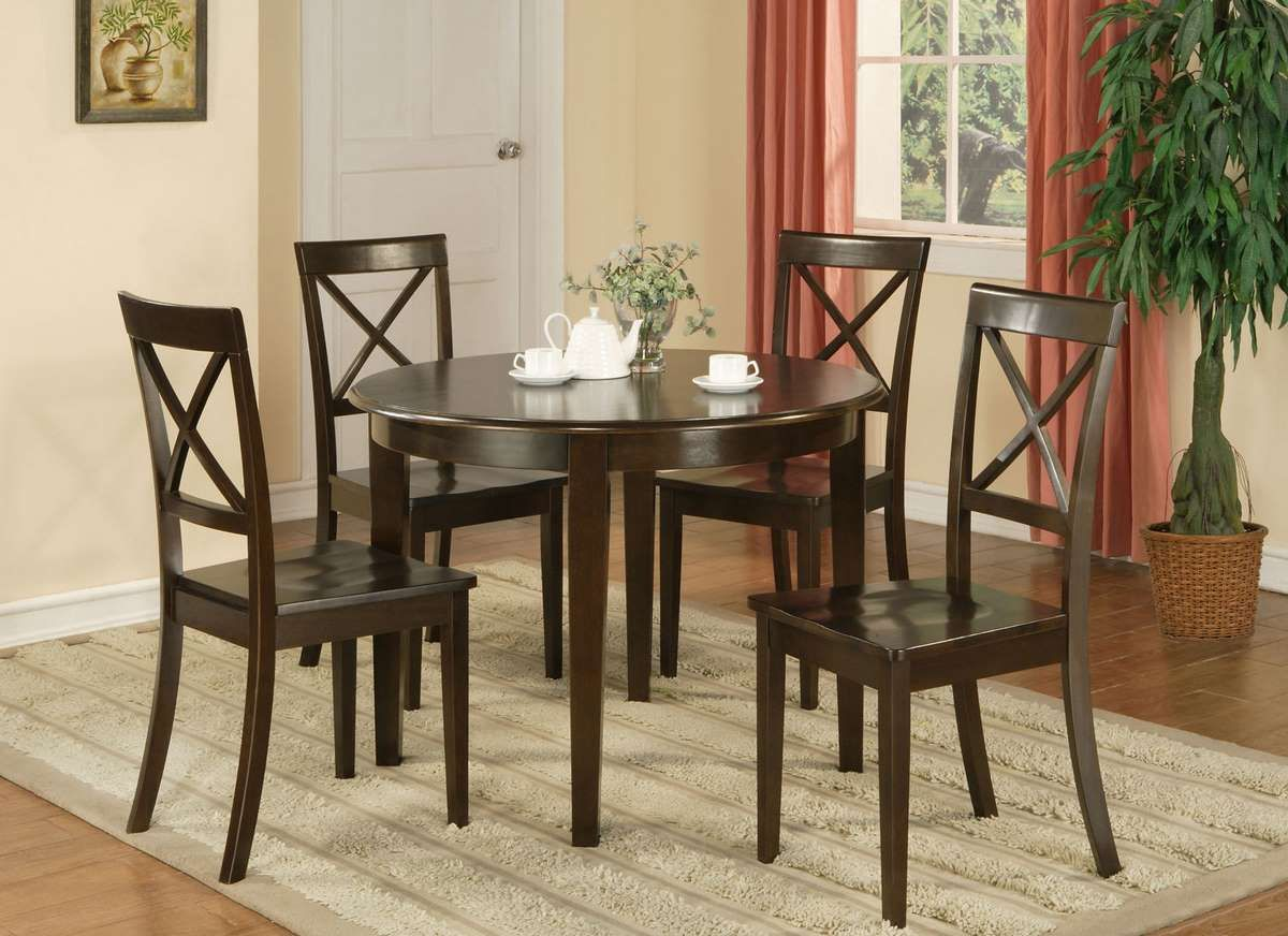 Inexpensive Kitchen Table Sets Home Decor Interior Design Black Small Buffet With Nickel Pulls