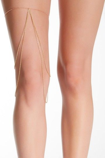 Two-Tone Thigh Drape Chain by RM Manufacturing Co. on @HauteLook