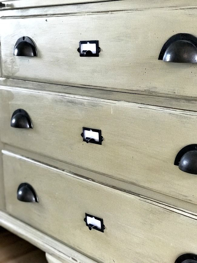How To Add Drawer Labels To Furniture Drawer Labels Furniture Refinishing Furniture