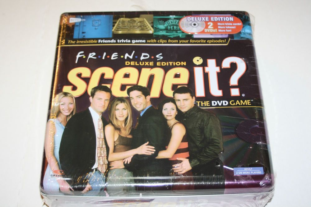 Scene It? Friends Deluxe Edition 2 DVD Board Game in Tin ...