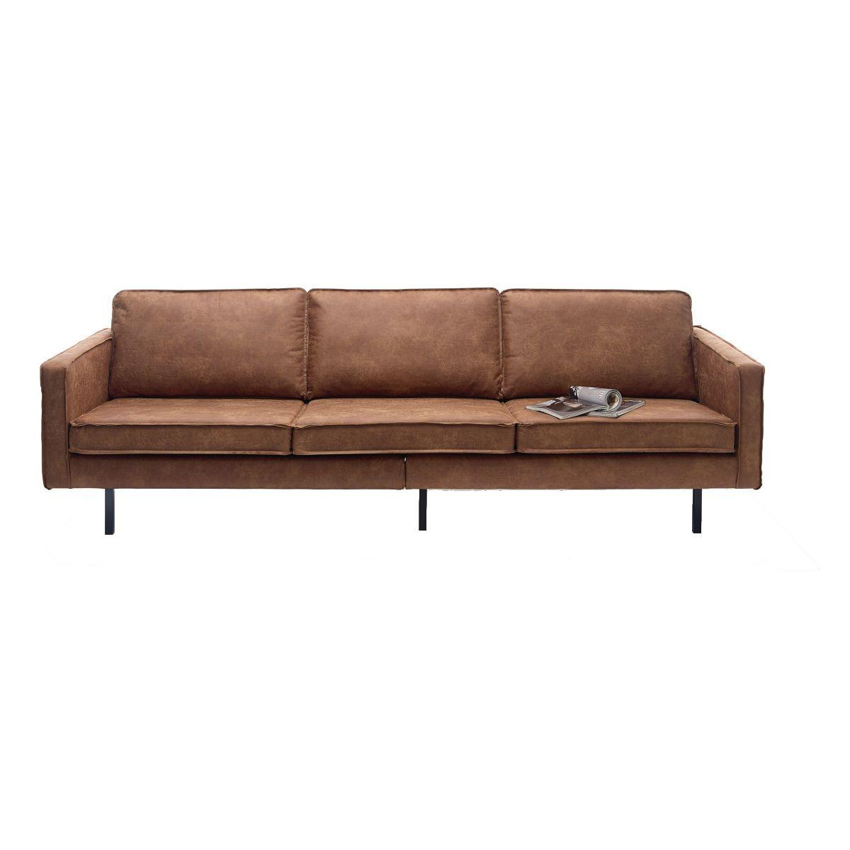Perfekt Robust Und Stylisch   Die Couch Aus Leder Ist Ein Absoluter Hingucker Und  Dazu Noch Höchst · CouchSofasLeader