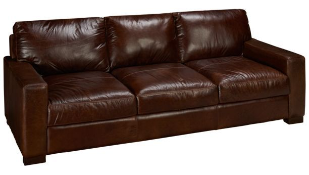 Soft Line Pista Pista Leather Sofa
