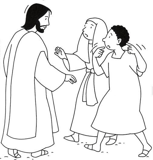 Pin by Shannon Warren on Christian Coloring Pages-NT