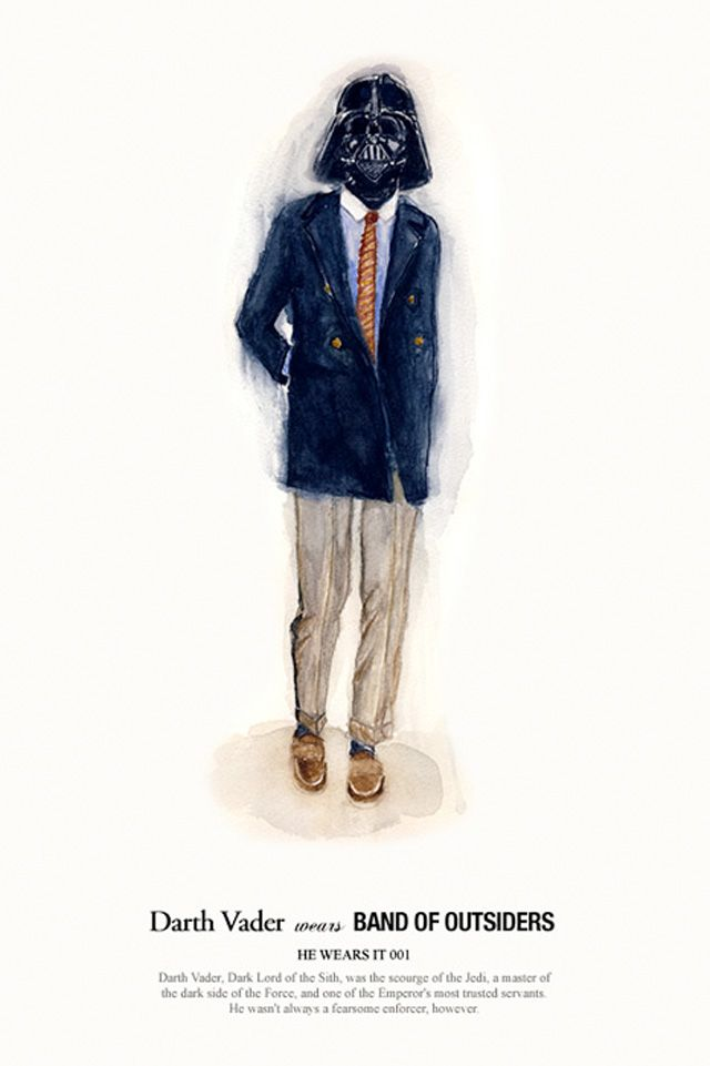 """""""He Wears It"""", une série d'illustrations que l'on doit à John Woo"""