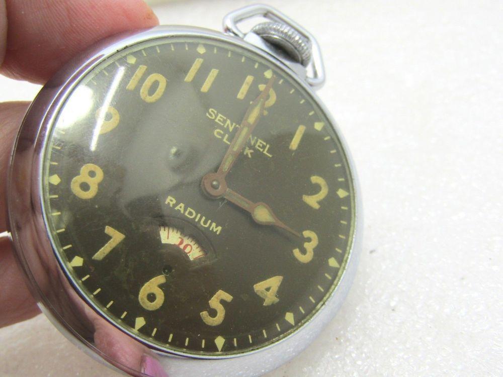 82c29e4fc Vintage Ingraham Radium Sentinel Click Pocket Watch, 1940's, Second Dial,  Works #IngrahamRadiumSentinelClick #OpenFaceMechanicalWinding