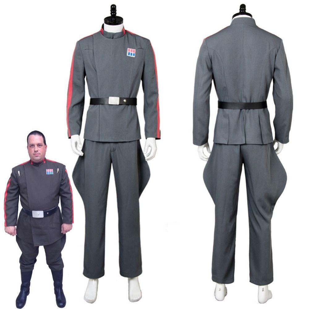 Star Wars 501st Imperial Tie Fighter Pilot Cosplay Costume Uniform Flight Suit