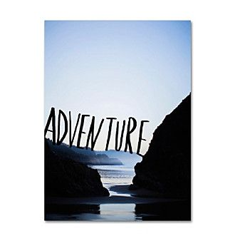 "Trademark Global Fine Art ""Adventure Arcadia"" Canvas Art"