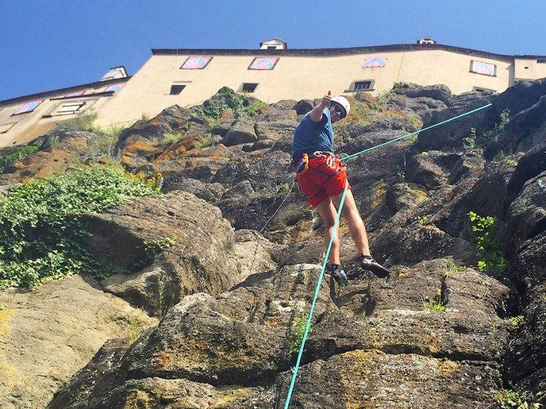 Klettersteig Riegersburg : Leopold klettersteig auf die riegersburg mit video mittens
