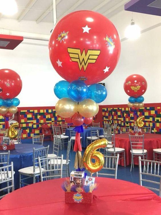 Centros De Mesa De La Mujer Maravilla Wonder Woman