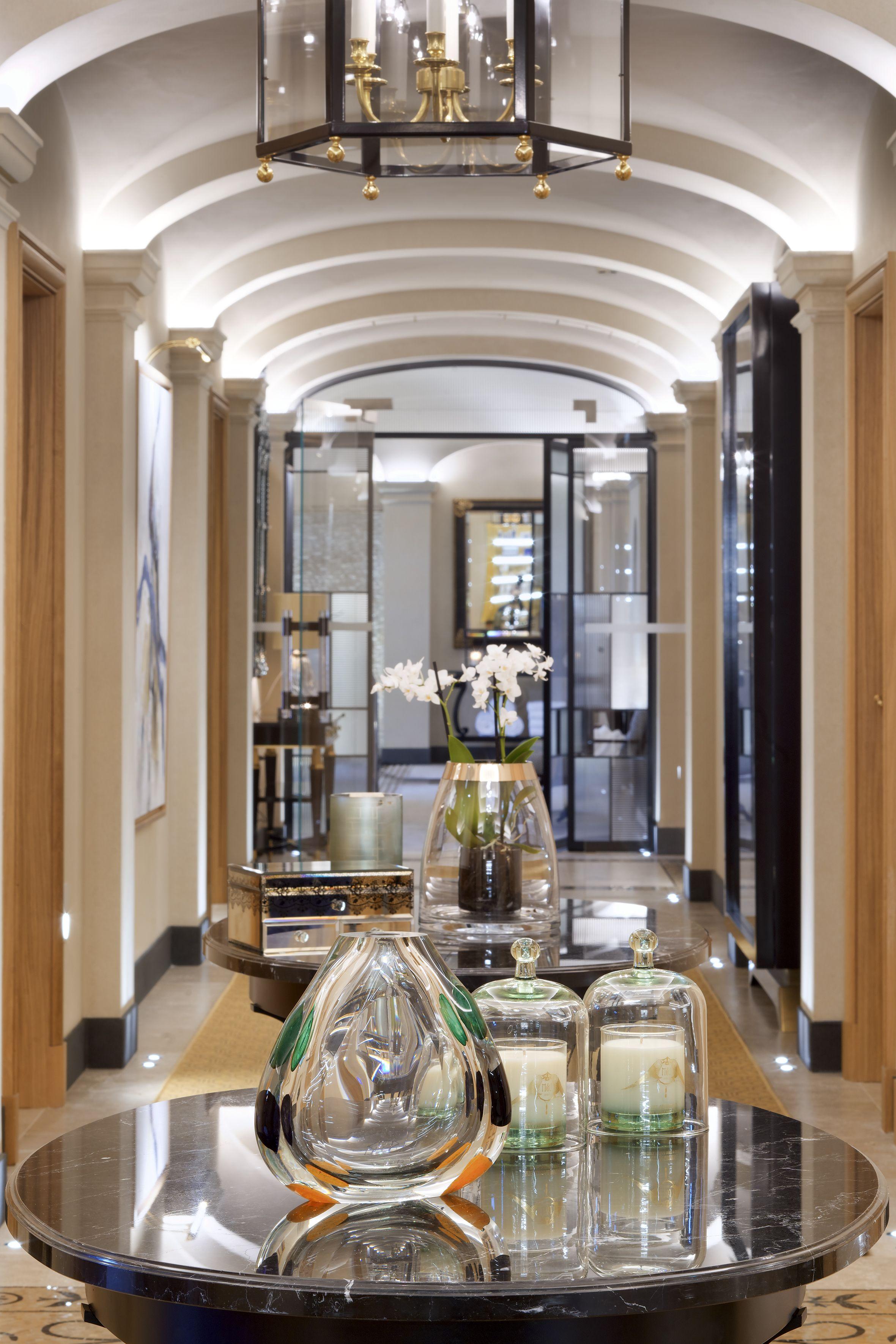Feminine bathrooms that promise a refreshing dip decor advisor - Ava Spa By Four Seasons Corridor Detail
