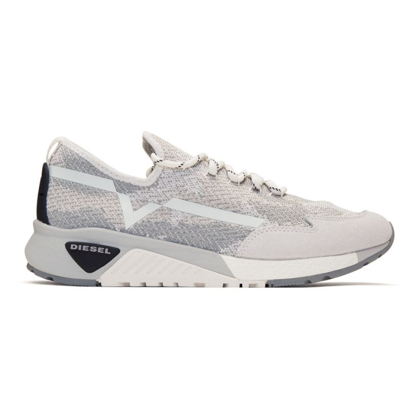 White and Grey S-KBY Sneakers Diesel Cheap Sale Best Prices ZMn6Ha