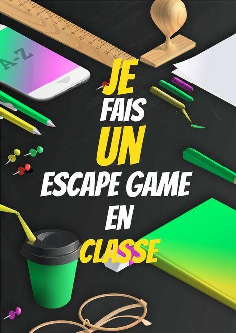 Organisez un escape game avec vos élèves Enfants Classe