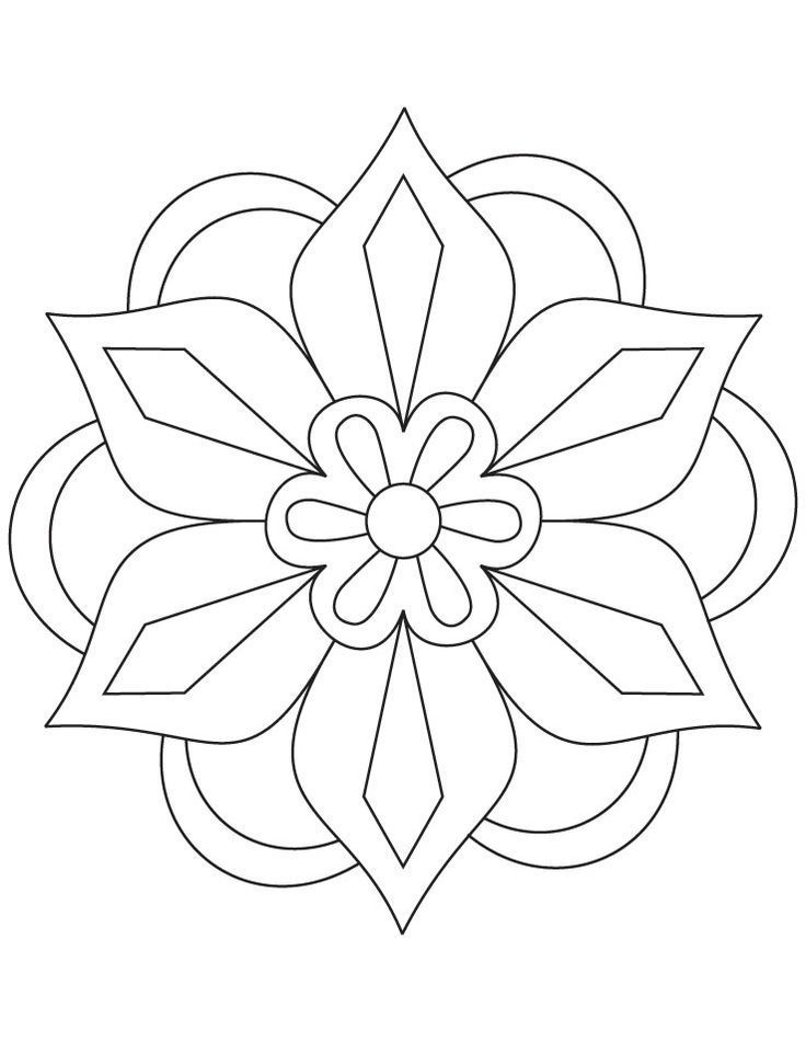 Diwali Rangoli Patterns Coloring Pages Diwalifbcovers Mandala Coloring Pages Pattern Coloring Pages Mandala Coloring