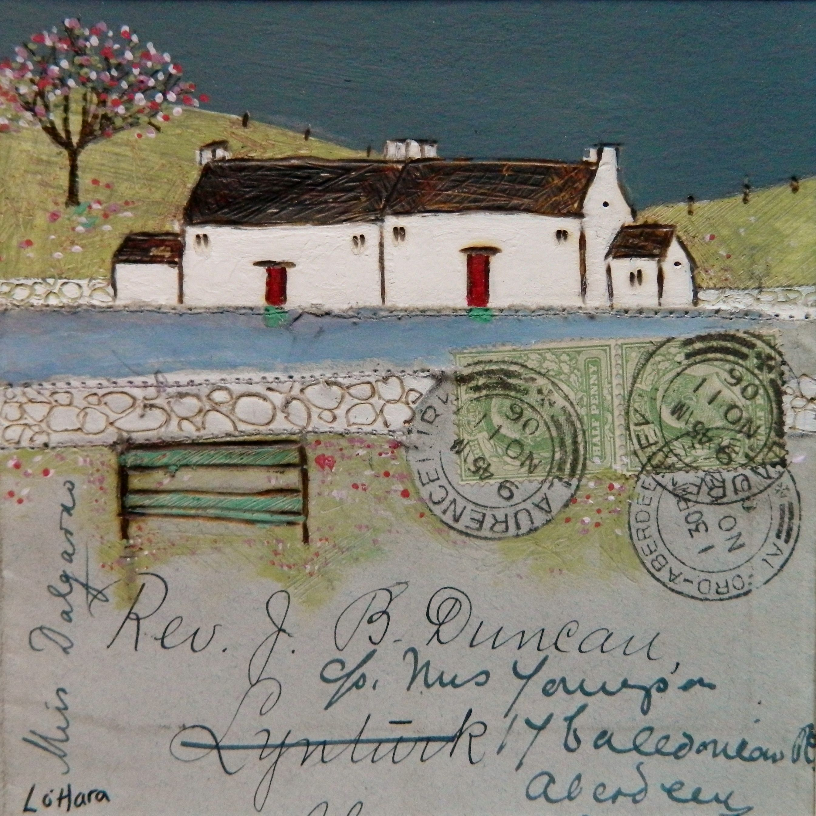 ''The last post to Aberdeen'' By Louise O'Hara