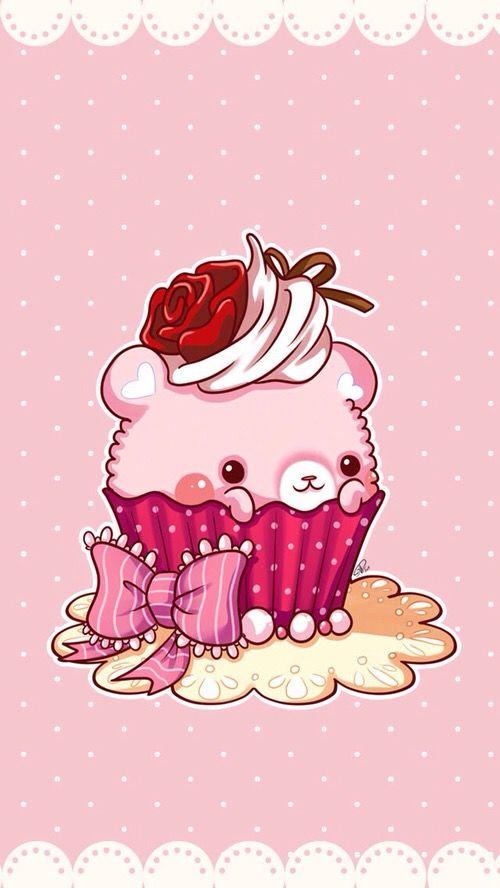 Kawaii Cupcake Kawaii Drawings Cute Kawaii Drawings Kawaii Art