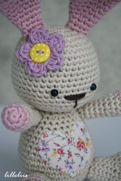 Funny Bunny Gratis Amigurumi Patroon Dutch Haken Crochet