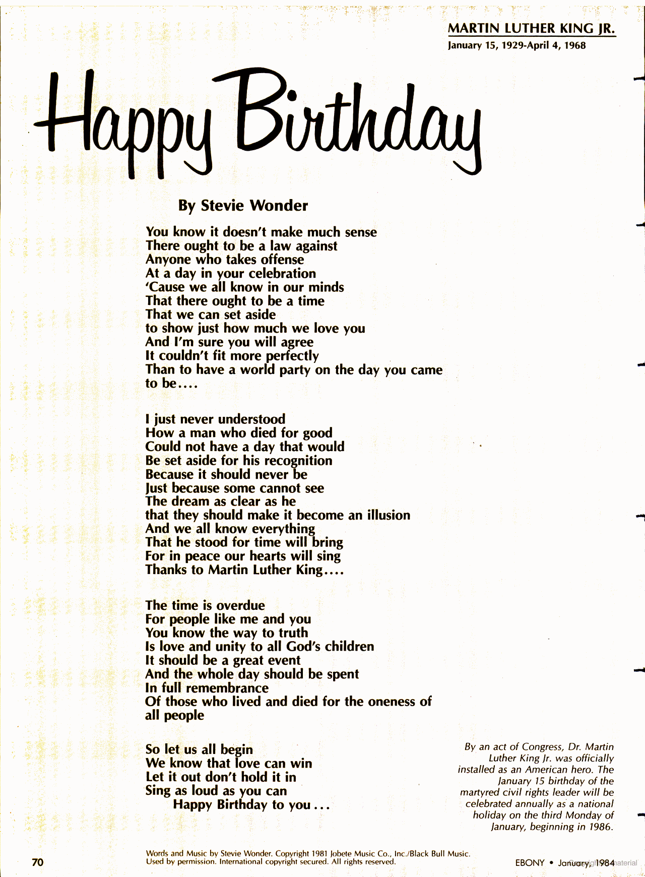 """Did you know the original lyrics of the song """"Happy"""
