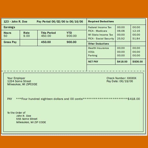 Sample Pay Stub Instant Online Pay Stubs Rockstub Templates Statement Template Paycheck