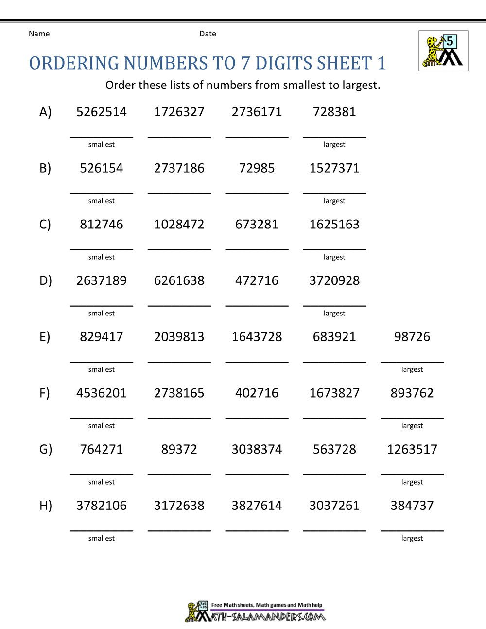 Comparing Decimals Worksheet 5th Grade In 2020 Number Worksheets Number Patterns Worksheets Place Value Worksheets