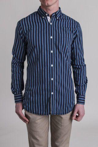 American Heritage Peyd Stripe New Americana Shirt