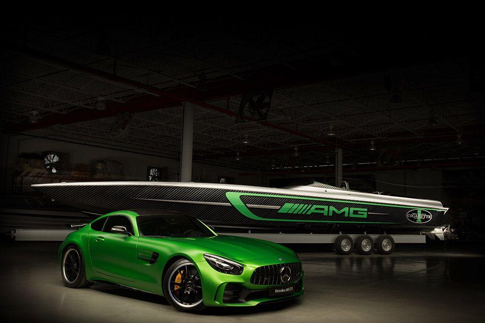 Mercedes-AMG Marauder Boat