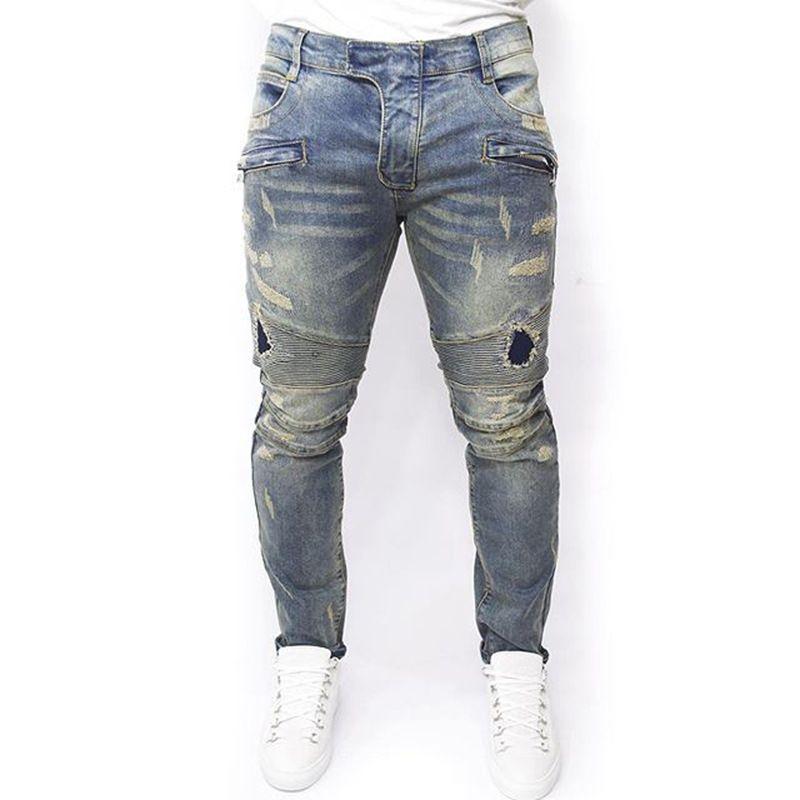 Cheap Plus Size 2016 nuevos hombres marca de ropa Casual Jeans ...
