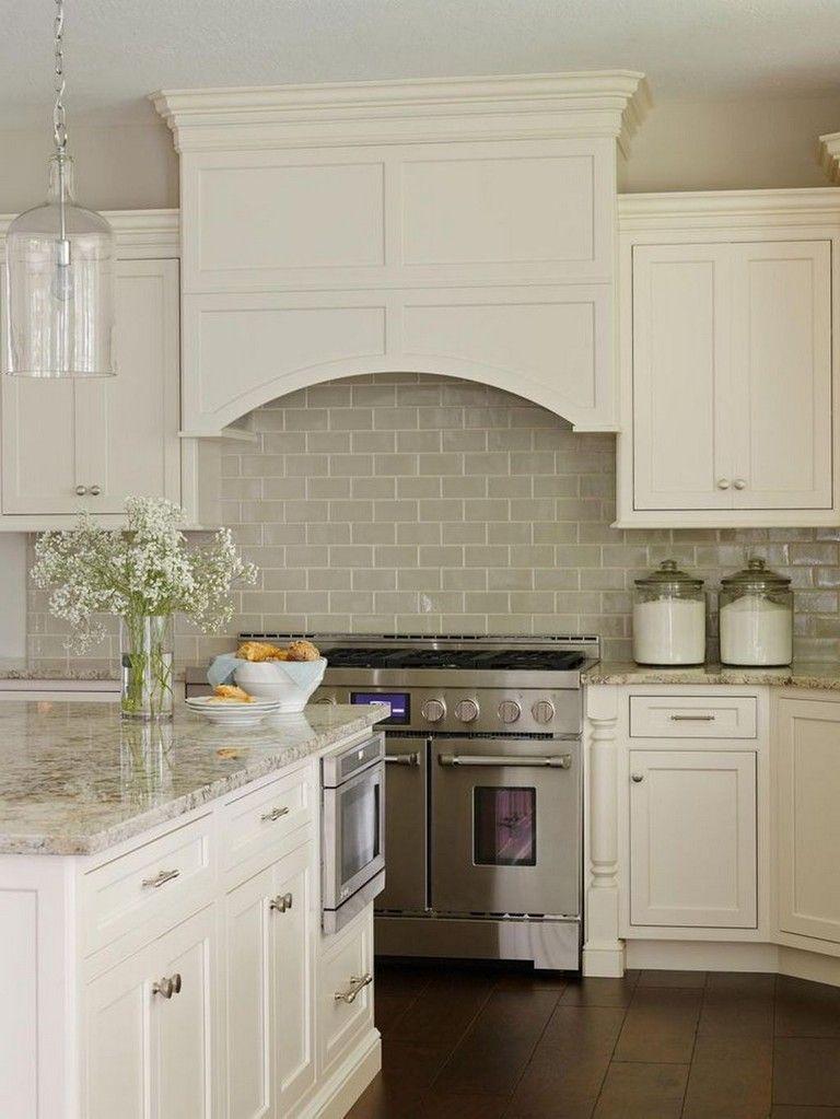 53 Cool White Cabinet Kitchen Backsplash Tile Pattern Ideas Kitchen Remodel Home Kitchens Kitchen Design
